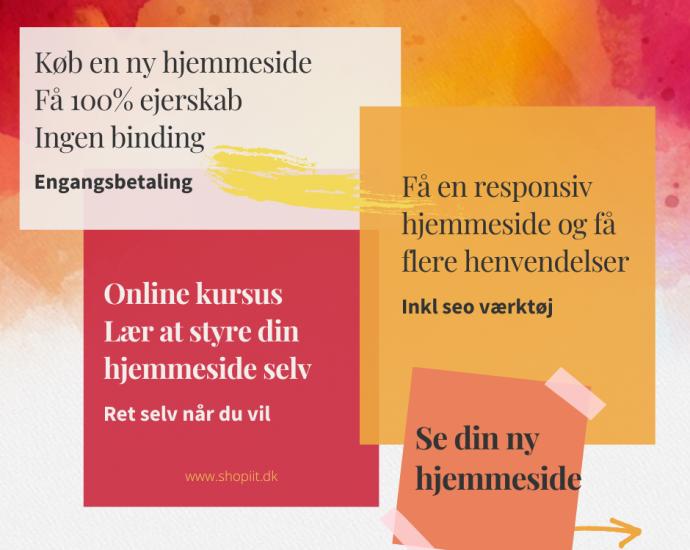 Hjemmeside kursus